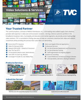 Video Solutions & Services Brochure