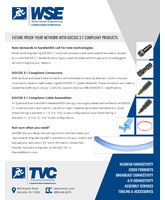White Sands Engineering DOCSIS 3.1 Compliant Products
