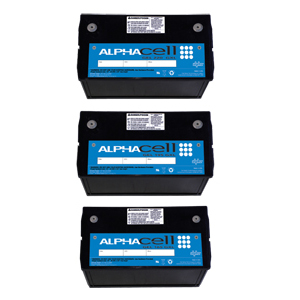 AlphaCell™ GXL Broadband Batteries