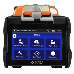 Quantum Type-Q102-CA Core Alignment Fusion Splicer